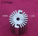 22mm-0.866 inches round heatsink for led light