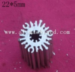22mm/0.866 inches round heatsink for led light