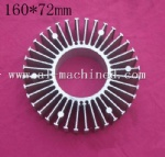 160mm-6.299 inches round heatsink for led light