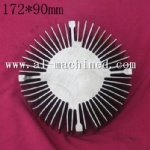 172mm-6.772 inches round heatsink for led light