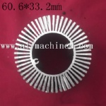 60.6mm 2.386 inches Round Heatsink for Led Light