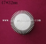 47mm 1.85 inches Round Heatsink for Led Light