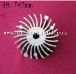 48.7mm/1.92 inches Round Heatsink for Led Light