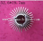 52.6mm 2.07 inches Round Heatsink for Led Light